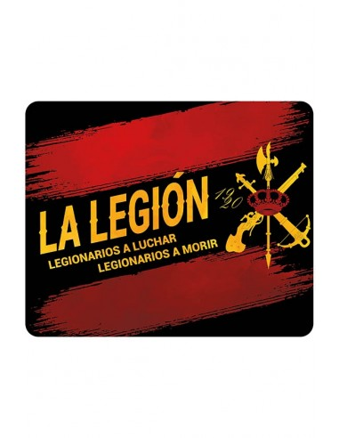 Anti-slip computer mat of the Legion.