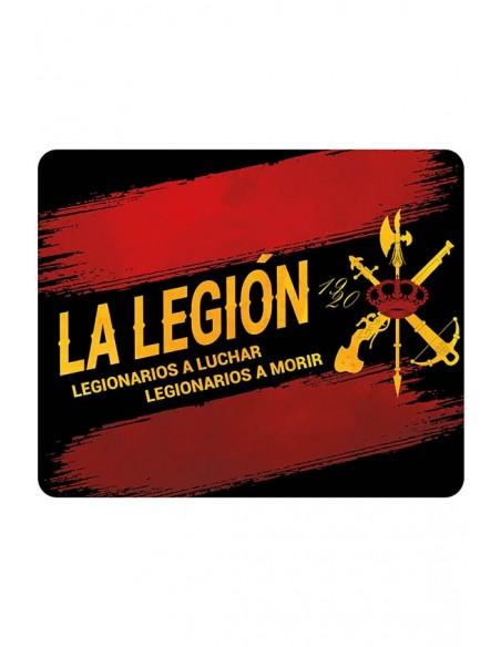 Anti-slip computer mat of the Legion.