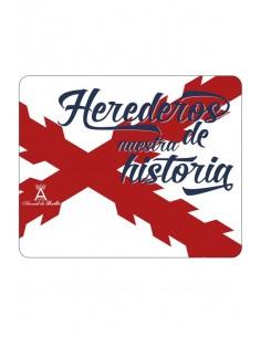 Alfombrilla Cruz de Borgoña