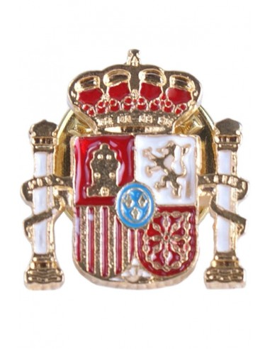 Pin Silueta Escudo España Relieve