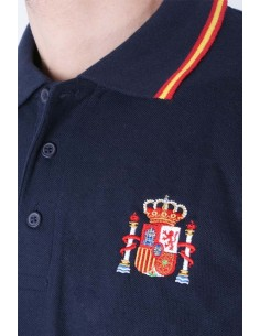 Spain Men's Polo Shirt