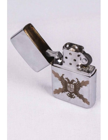 Zippo With the Coat of Arms of the Flanders Thirds Laser Engraving