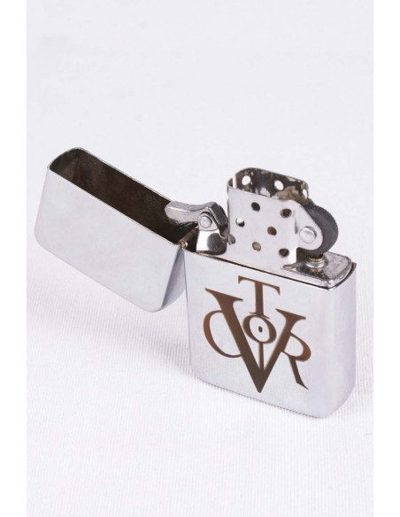 Zippo With Vitor Symbol Laser Engraving