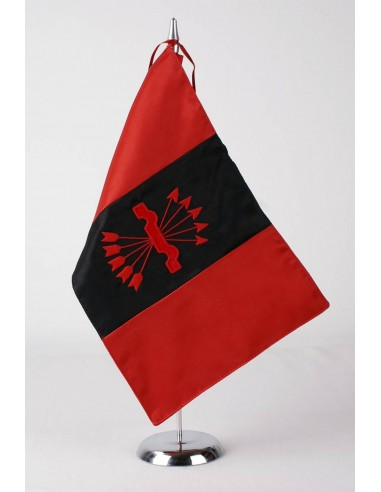 Spanish Falange Embroidered Desktop Flag