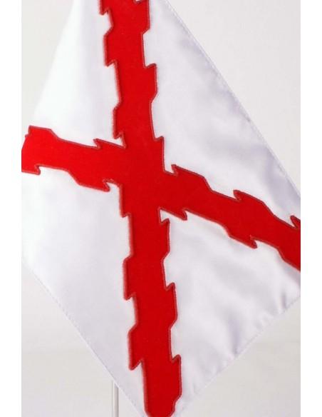 Banderín Sobremesa Cruz de Borgoña o San Andrés