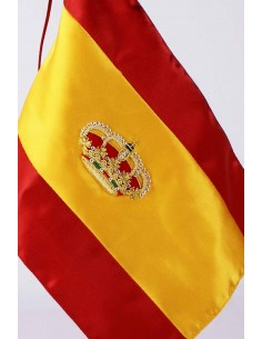 Spanish Royal Crown Desktop Flag