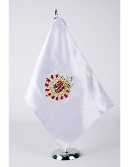 Banderín Sobremesa Pabellón España Siglo XVII