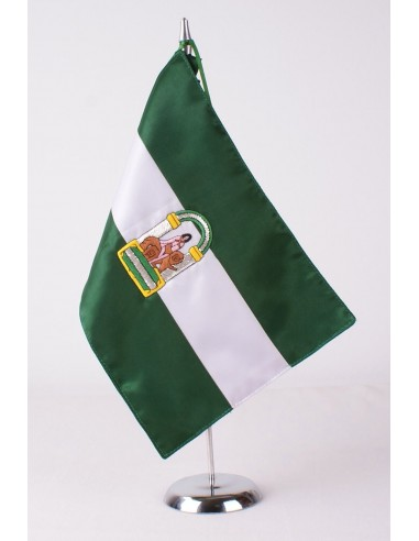 Andalusia Embroidered Desktop Flag