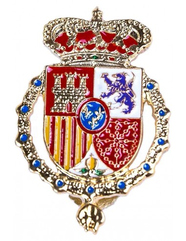 Emblem Casa Real Felipe VI for Boina.