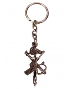 Keychain Legion Christ in bronze