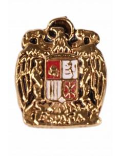 Pin Águila San Juan Silueta Envejecido