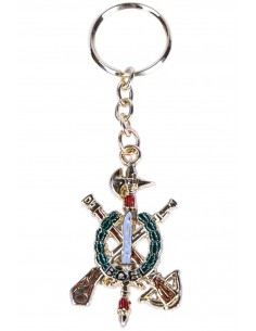 Legion Shield Keychain Boel