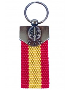 Keychain Gar Flag Spain