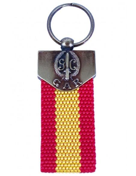 Keychain Gar Flag Spain