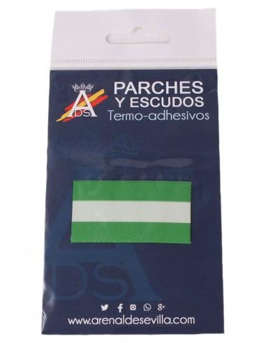 Parche Bandera Andalucia Sin Escudo