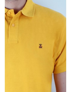 Basic Polo mustard Flag Spain