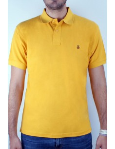 Basic Polo mustard Flag Spain