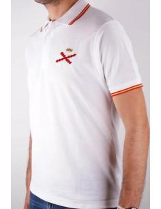 Polo Cruz Borgoña Para Hombre