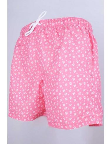 Pink Swimwear Flower Print