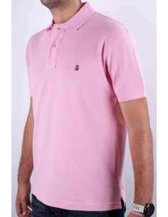 Basic Polo Pink Flag Spain