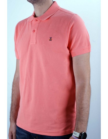 Basic Polo coral Flag Spain