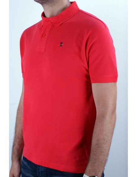 Basic Polo red Flag Spain