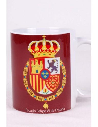 Taza Escudo Felipe VI España