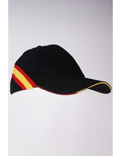 Spanish Flag Cap - Black