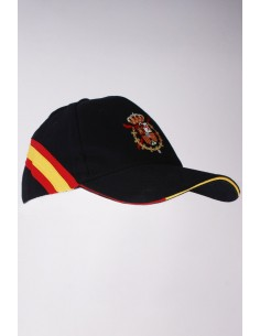 Sacred Heart and Spanish Flag Cap