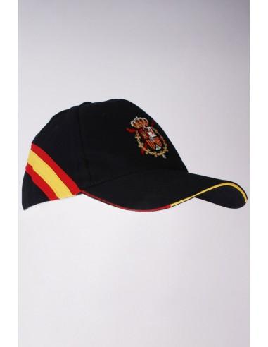 Sacred Heart and Spanish Flag Cap