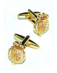 Felipe VII weapons badge cufflinks