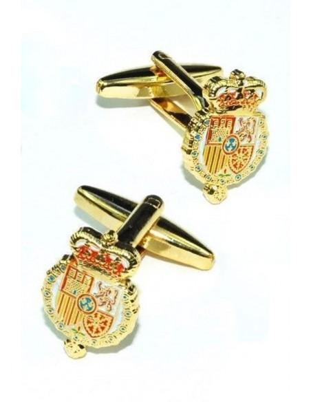 Felipe VII weapons badge cufflinks