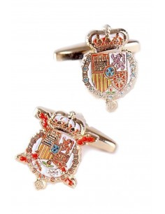 Royal House and Felipe VII cufflinks