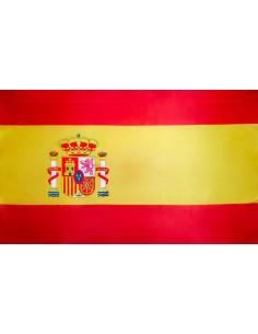 BANDERA DE ESPAÑA ESCUDO ACTUAL
