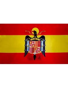 Bandera Águila San Juan en Satén