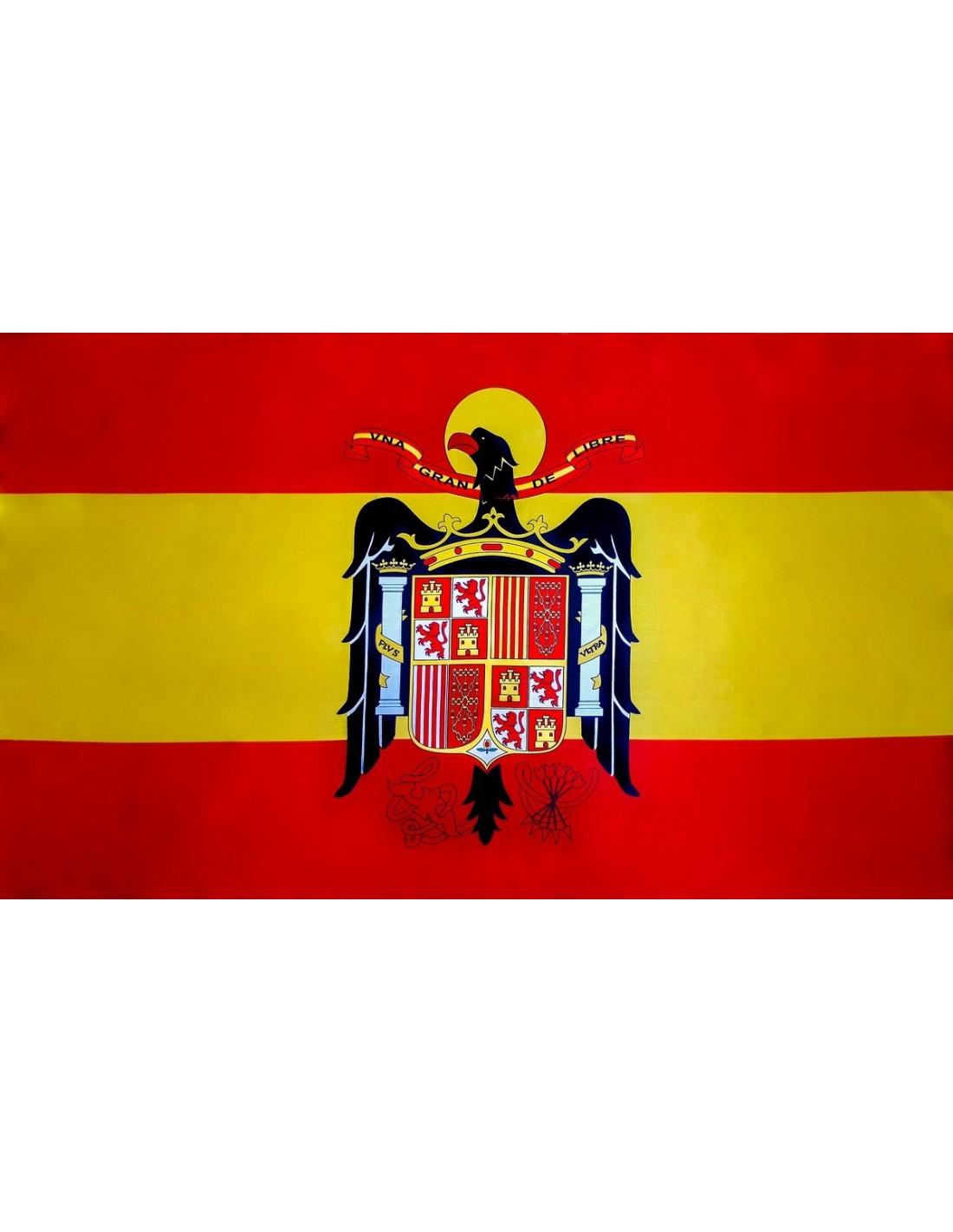 Bandera Del águila De San Juan En Satén De Alta Calidad