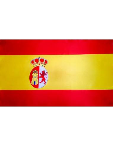Bandera España 1785 Carlos III en Satén