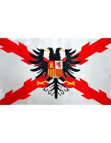Bandera Tercio Flandes en Satén