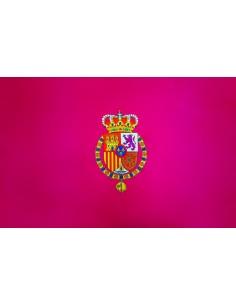 Bandera Real España de Felipe VI en Satén