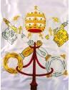 Bandera del Vaticano Bordada a Mano