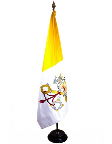Vatican Flag hand Embroidered