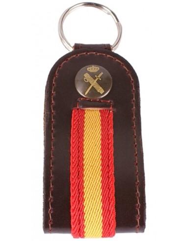 Llavero España Guardia Civil-Marrón