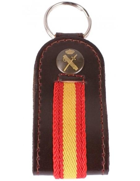 Civil guard keyring