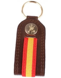 Spanish Legion Leather Key Ring