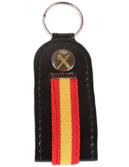Llavero España Guardia Civil-Negro