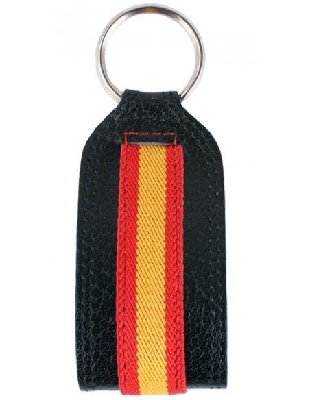Llavero Botón Negro España