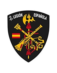 Pegatina Legión Española Blasón