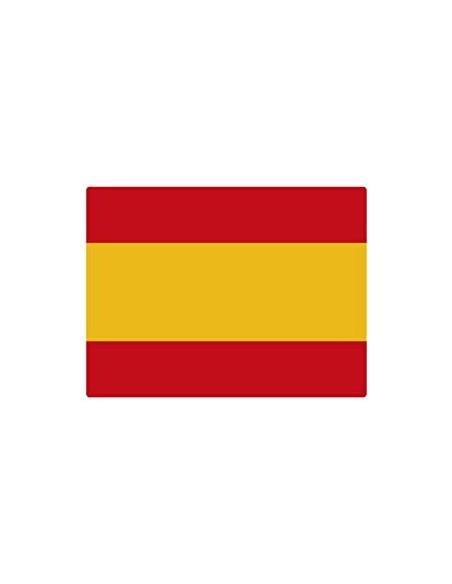 Spain's flag sticker