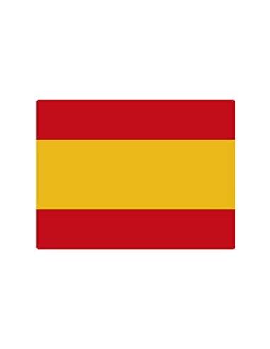 Pegatina Bandera España Plana Mediana