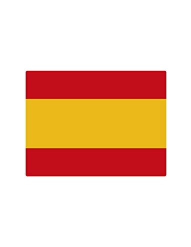 Spanish Flag Sticker - Small